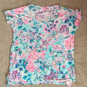 Lilly Pulitzer Linen T-Shirt